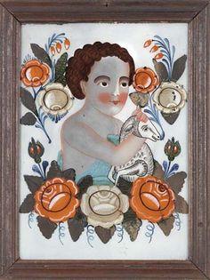 Contemporary Decorative Art, Folk Style, Folk Fashion, Naive Art, Santa Barbara, Flower Art, Sheep, Folk Art, Primitive