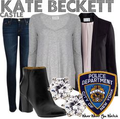 """Inspired by Stana Katic as Kate Beckett on """"Castle"""""""