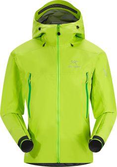 Arcteryx Mens Beta LT Jacket Mantis Green