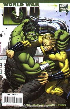 Green Monster - Marvel Variant Edition - Strain - Muscles - Punch