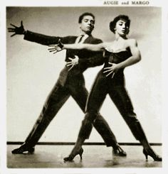 Article on the Roots of Salsa Dancing.  Cuban Pete, Millie Donay, Eddie Torres, Augie and Margo.