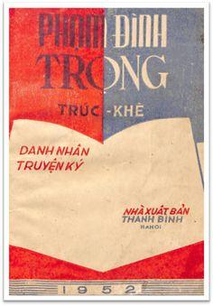 Phạm Đình Trọng-Danh Nhân Truyện Ký (NXB Thanh Bình 1952) - Trúc Khê, 66 Trang | Sách Việt Nam