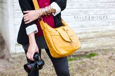 """If anyone is looking for a """"just because"""" present, I really really want a Kelly Moore hobo camera bag :)"""