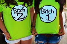 I know two perfect people for these shirts...