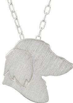 dachshund charm necklace $69.95