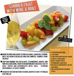 the best fruit salad recipe ever!