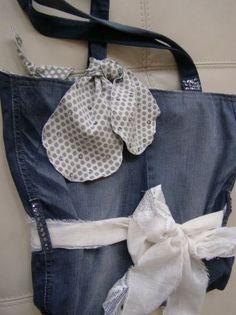 Blue Jeans Handbag