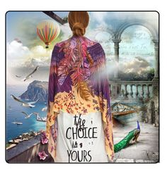 """The Choice is Yours"" by maja-k ❤ liked on Polyvore featuring art"
