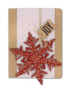 Very Merry Christmas Card - click through for project instructions.