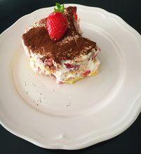 Erdbeer Tiramisu - ganz ohne Ei