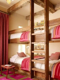 This is cute for sisters!! :) An amazing bedroom