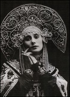 "Anna Pavlova. ""God gives talent. Work transforms talent into genius."""