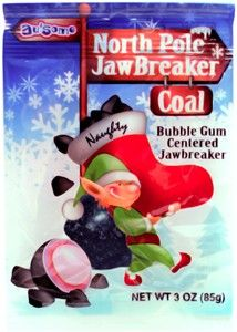 North Pole Jawbreaker Coal #stockingstuffer #christmas #elf #candycratedotcom