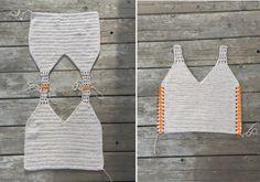 Top Crop Tejido En Crochet, Crochet Tunic Pattern, Crochet Blouse, Crochet Bikini, Crochet Patterns, Crochet Hook Sizes, Crochet Stitches, Crochet Hooks, Crochet Baby Sweaters