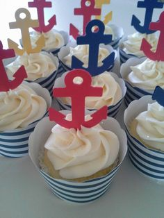 Anchor Cupcakes.