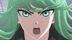 One Punch Man - Tatsumaki vs Lizard Clan Fight Scene HD
