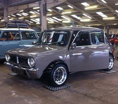 Grey & original clubman