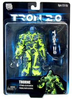 "Tron 2.0 7"" Action Figure Thorne"
