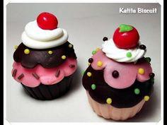 Como fazer: cupcake de Biscuit # Artesanato fácil - YouTube