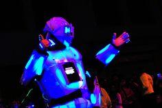 robot luminoso