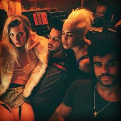 """marckinchen #anabelenglundz #sib_vicious and #jamiejonesmusic in Los Angeles being awesome"""