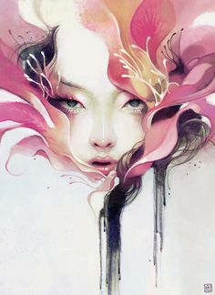 New Work by Anna DittmannArtist Anna Dittmann (previous post) is a digital illustrator from San Francisco.  She recently graduated from the Savannah College of Art and Design with a BFA in Illustration.  Her work is very distinctive and lyrical.    Keep up with Anna's work on her Tumblr. You can get prints of Anna Dittmann's work at Society6.Keep up with all your favorite artists on our Facebook Page.Posted by Lisa. Thanks to AA2.