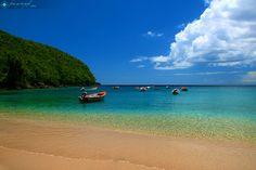 beach in Martinique ....
