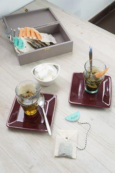Créer ses sachets de thé Atelier Fleur de Mai DIY
