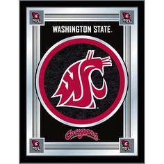Washington State Cougars Logo Wall Mirror