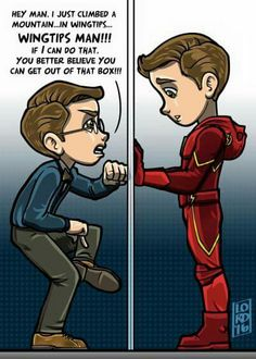 Dorky Barry and Barry/ The Flash