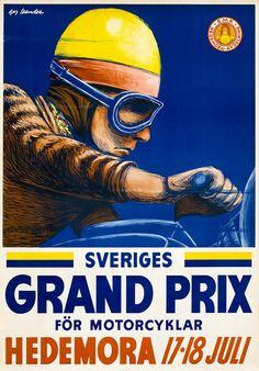 Gus Leander, Sveriges Grand Prix for Motorcyklar, 1954