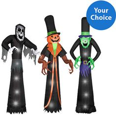 """Your Choice 12"""" Halloween Airblown InflatableOnline $98.00"""