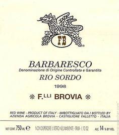 brovia-barbaresco-rio-sordo-barbaresco-docg-italy 3 Ways That Italians Label Wine Types  By Region