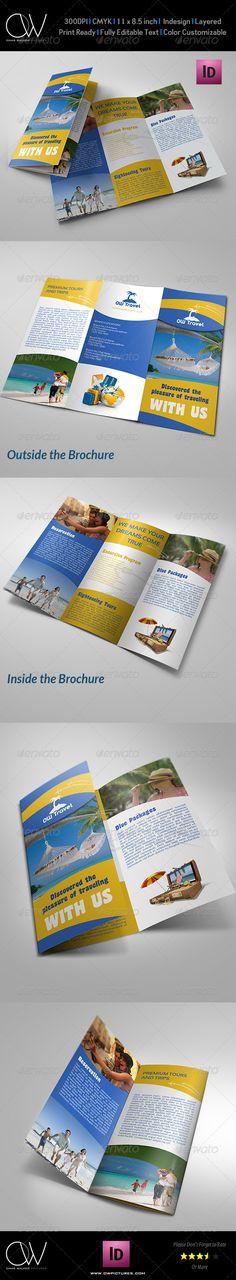 40 best travel and tourist brochure design templates 2018 designmaz