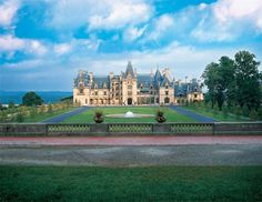 Biltmore House on the Biltmore Estate in Asheville, NC.  It is the 250-room family home of George and Edith Vanderbilt.