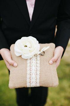 Wedding Ring Pillow | Nisan Yuzuk Yastigi