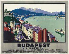HUNGARY - BUDAPEST. Circa 1928.