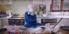 We Can't Get Enough of These Cookie Monster Bloopers | These outtakes are everything.