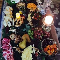 Check out this feast at a Game Of Thrones birthday party! See more party ideas at CatchMyParty.com!