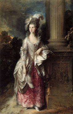 "via Clare McLeod @IntermezzoArts  ""@Biagio960 The Honorable (Mary Cathcart) Mrs. Graham (1775-77) by Thomas Gainsborough at National Gallery Scotland """