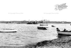 Photo of Felixstowe, Ferry 1907 from Francis Frith Live In The Now, Seaside, Boat, Collection, Dinghy, Beach, Boats, Coast, Ship