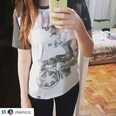 #Repost @mamcrz with @repostapp. ・・・ Nova camiseta favorita  #stormtrooper