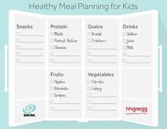 Get your kids involved in packing their own lunches! Use iMOM's Healthy Meal Planning printable as a guide to pack the ideal lunch—they will love it!