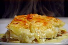 Gratin de céleri rave, pommes de terre et gorgonzola - La cuisine de Ponpon: rapide et facile!