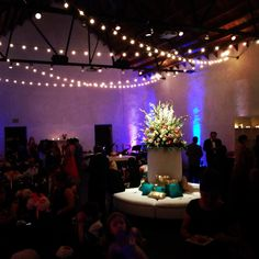 Elegant wedding reception at Ruby.