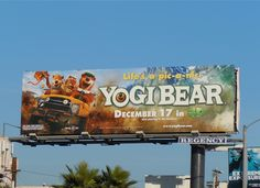 cute Yogi Bear sign