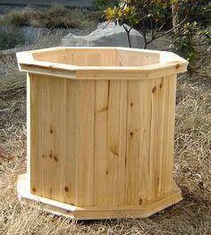 octagon planter box | wood planter villa octagon wood planter villa raised wood planter ...