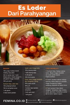Indonesian Food Traditional, Indonesian Recipes, Beverages, Drinks, Tik Tok, Food To Make, Foodies, Cooking Recipes, Ice Cream