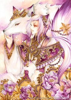 "Fox by Nina ""laverinne"" ~ 