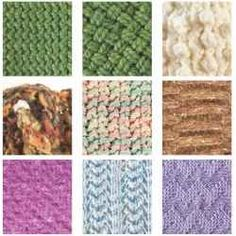 Loom Knitting Stitches